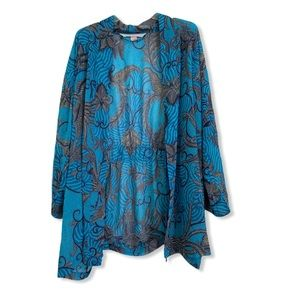 One size Victoria's Secret blue beach robe